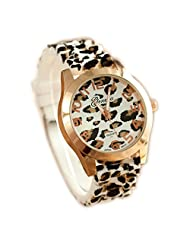 Evana Animal Leopard Tiger Print Analog Watch - For Women