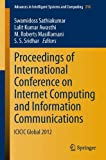 img - for Proceedings of International Conference on Internet Computing and Information Communications: ICICIC Global 2012 (Advances in Intelligent Systems and Computing) (Volume 216) book / textbook / text book