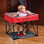 Go-Pod Portable Activity Seat - Cardinal