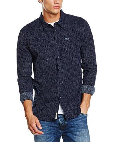 Pepe Jeans London Camisa Hombre Lane Azul Oscuro