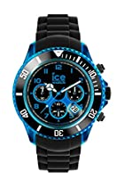 Ice-Watch - Chrono Electrik - Black - Blue - Big Big