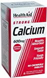 HealthAid Calcium 600mg - Chewable - 60 Tablets