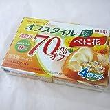 明治 meiji ヘルシーソフトマーガリン オフスタイル べに花 140g×4箱セット