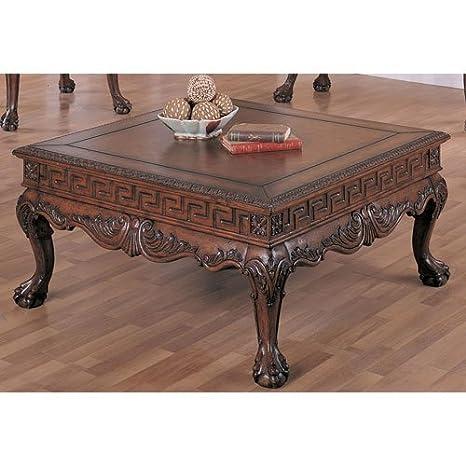 Coaster Home Furnishings 5099 Traditional Coffee Table, Brown
