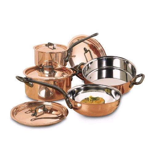 copper cookware. Black Bedroom Furniture Sets. Home Design Ideas