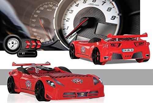 F1 Schumi Autobett / Kinderbett rot 90×190 cm bestellen
