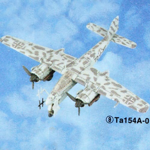 Buy Low Price Tomy Takara Famous Airplanes Of The World – Series 3 – TA154A-0 (4.5″ wingspan – 1/44 scale Model Kit) Figure (B002ZV9EJA)