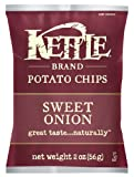 Kettle Brand Potato Chips, Sweet Onion, 2-ounces (Pack of 24)