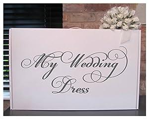Wedding dress storage box my wedding dress acid free for Acid free box for wedding dress