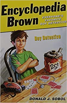 encyclopedia brown boy detective book report Our book today is donald sobol's 1963 classic encyclopedia brown, boy detective, which introduced sobol's immortal character, 10-year-old super-sleuth leroy.