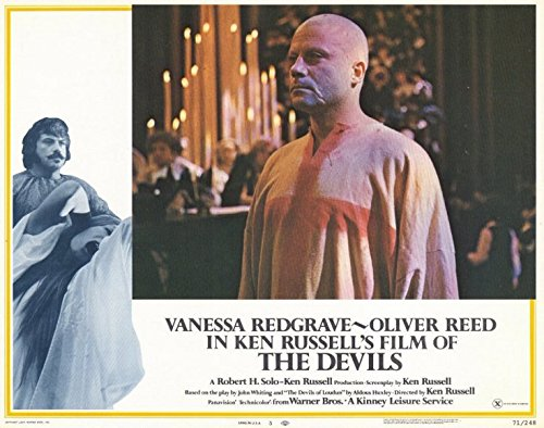 The Devils POSTER Movie (1971) Style E 11 x 14 Inches - 28cm x 36cm (Vanessa Redgrave)(Oliver Reed)(Dudley Sutton)(Max Adrian)(Gemma Jones)(Murray Melvin)(Michael Gothard) (Devils Oliver Reed compare prices)