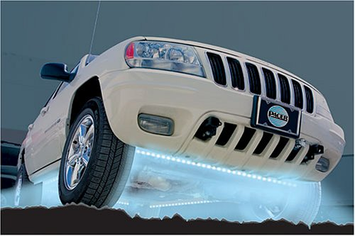 Pacer Performance Products 20810 Blue LED 4 Tube Undercar Lighting Kit with Remote