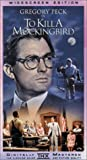 To Kill a Mockingbird (Widescreen) [VHS]
