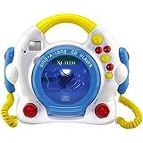 X4-Tech Bobby Joey Kinder CD-Player mit Karaoke Funktion/Mikrofon