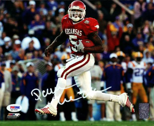Darren McFadden Signed Arkansas Razorbacks 8x10 Photo - PSA DNA at Amazon.com