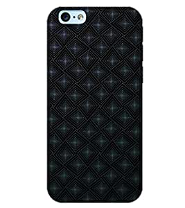 PrintDhaba STAR PATTERN D-6936 Back Case Cover for APPLE IPHONE 6 PLUS (Multi-Coloured)