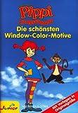 Window-Color-Vorlage: PIPPI LANGSTRUMPF - Die schönsten Window-Color-Motive - mit Vorlagen in Originalgröße -