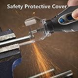 安全保護カバー電動グラインダードレメル用の透明カバーシールド
