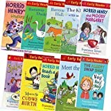 Francesca Simon Horrid Henry Early Readers Collection- 10 Books (Horrid Henry and the Football Fiend Horrid Henry's Car Journey Horrid Henry's Birthday Party plus many more)