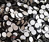 """2 X Magnets -Economy 1/2"""" Round Disc with Adhesive Backing~ 250 Pcs!"""