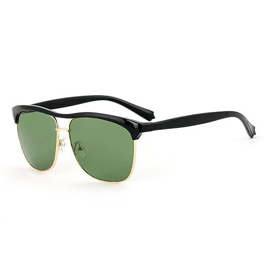 Royal Son UV Protected Wayfarer Unisex Sunglasses (WHAT3090|52|Green)