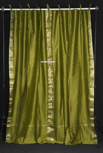 olive green curtain | eBay - Electronics, Cars, Fashion