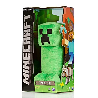 Official Minecraft Creeper 12 Plush Toy Figure by MOJANG