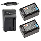 DSTE® 2x BT-S7 Battery + DC140