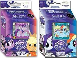 Twilight Sparkle & Rainbow Dash MLP Theme Deck Bundle