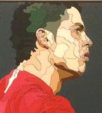 クリスティアーノ・ロナウド マンチェスターユナイテッドC 海外サッカーグラフィックアートパネル 木製ポスター インテリア