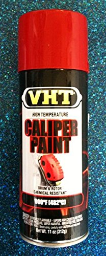 Duplicolor High Temp Brake Caliper Drum Paint, Vht Real Red, Pt# Sp731, Sp 731