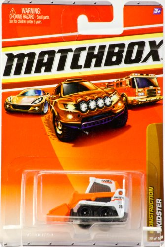 2009 - Mattel - Matchbox - Construction Skidster - #39 of 100 Vehicles - Die Cast Metal - Out of Production - Collectible - 1