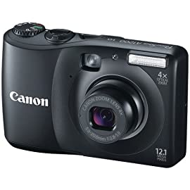 Canon Powershot A1200 Digital Camera With Optical Viewfinder (Black)
