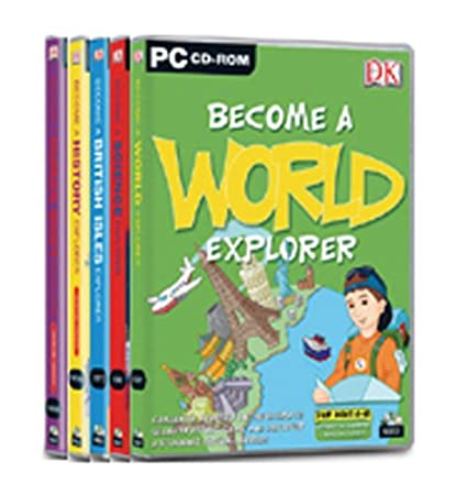 DK Explorer Pack - Includes World, Human Body, History, Science & British Isles Explorer
