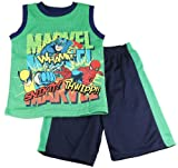 The Amazing Spider-Man Boys Ultimate Mesh Tank Top and Shorts Set