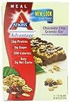 Atkins Advantage Bars, Chocolate Chip…