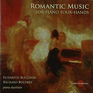 Romantic Music for Piano Four-