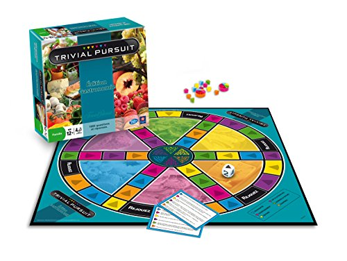 Winning Moves - 0346 - Jeu De Questions-réponses - Trivial Pursuit Gastronomie 2014