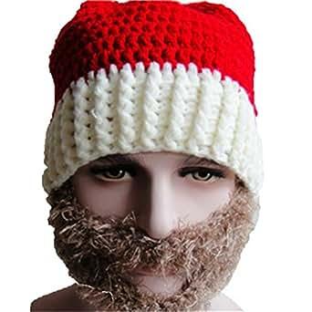 hitop weihnachten warm winter strickgarn hut weihnachts zauberer kost m weihnachtsmann m tze mit. Black Bedroom Furniture Sets. Home Design Ideas