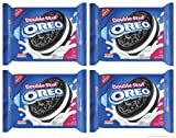 Oreo Double Stuff Oreo Cookie, 15.35-Ounce Packages (Pack of 4)