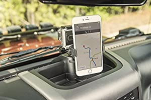 Rugged Ridge 13551.16 Dash Multi-Mount Phone Kit