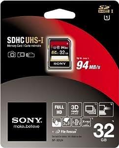 Sony 32GB SDHC Class 10 UHS-1 (SF32UX/TQ)