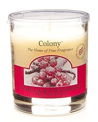 Colony Vanilla Cranberry Small Wax Filled Jar by Wax Lyrical