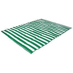 Stansport Tatami Straw Ground Mat, Green