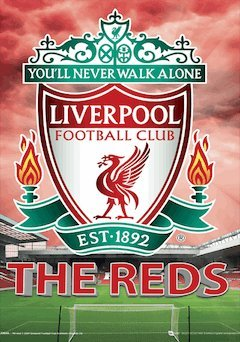 Liverpool FC. 3D Poster