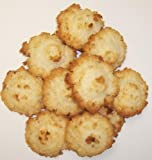 Scotts Cakes Coconut Macaroon Cookies in a 1 Pound White Box