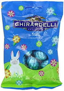 Ghirardelli Milk Chocolate Easter Eggs, 3.5-Ounce Package