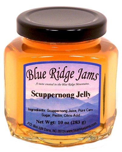 Blue Ridge Jams: Scuppernong Jelly, Set of 3 (10 oz Jars)