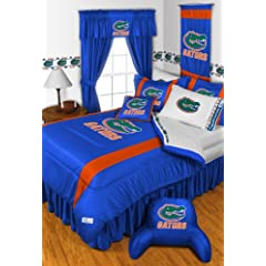 Florida Gators FULL Size 14 Pc Bedding Set (Comforter, Sheet Set, 2 Pillow Cases, 2... by Sports Coverage