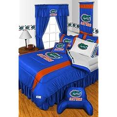 FLORIDA GATORS QUEEN 15 PIECE BEDDING COMFORTER BED IN A BAG BEDROOM DECOR by FLORIDA GATORS